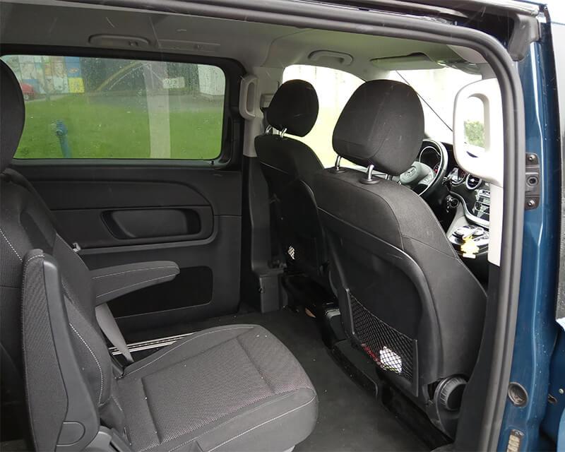Mercedes V-class Interiér