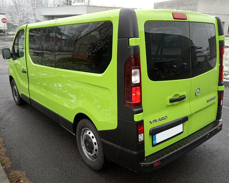 Opel Vivaro Zavazadlový prostor