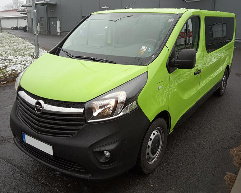 Opel Vivaro Exteriér