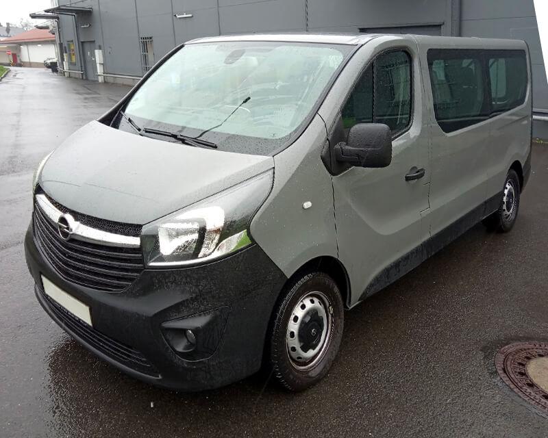 minibus Opel Vivaro 9 míst